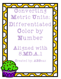 Converting Metric Units Differentiated Color by Number