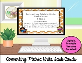 Converting Metric Units Review Task Cards