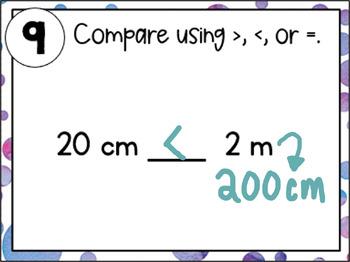 Converting Metric Units of Length