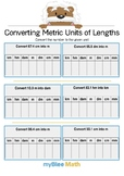 Converting Metric Units of Length 5 - Convert the number - Gr 5