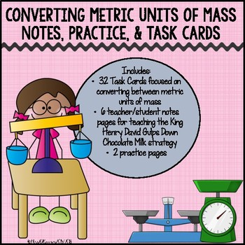 Converting Metric Units of Mass Pack