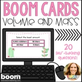 Converting Metric Units of Mass and Liquid Volume Boom Cards | Distance Learning