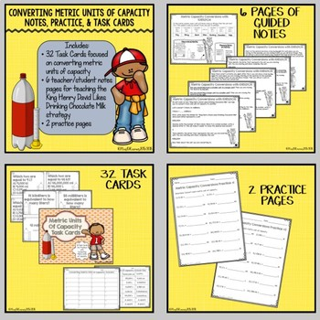Converting Metric Units of Measurement Bundle
