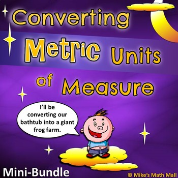 Converting Metric Units of Measure (Mini Bundle)