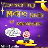 Converting Metric Units of Measure (Mini Bundle)