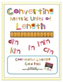 Converting Metric Untis of Length Cooperative Learning Card Pack