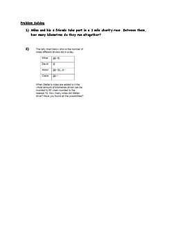 Converting Miles and Kilometres Worksheets
