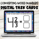Converting Mixed Numbers to Improper Fractions Google Slid