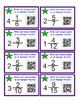 Converting Mixed Numbers to Improper Fractions Task Cards with QR Reader