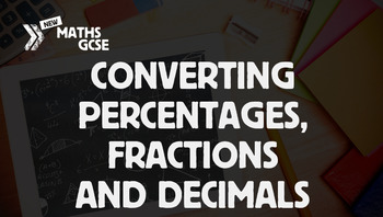 Converting Percentages to Fractions & Decimals - Complete Lesson