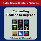 Converting Radians To Degrees - Math Mystery Pictures - Ou