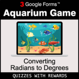 Converting Radians to Degrees | Aquarium Game | Google For