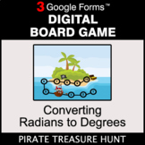 Converting Radians to Degrees - Digital Board Game | Google Forms