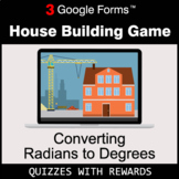 Converting Radians to Degrees | House Building Game | Goog