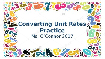 Converting Rates
