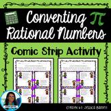Converting Rational Numbers Comic Strip