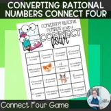 Converting Rational Numbers Connect Four