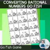 Converting Rational Numbers Go Fish TEKS 7.2a