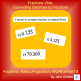 Fractions VIIIa: Converting Repeating Decimals to Fractions