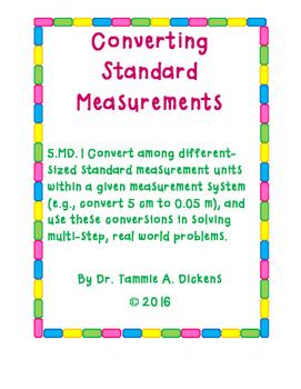 Converting Standard Measurements
