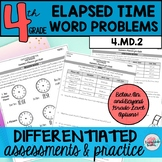 Elapsed Time Word Problems {Differentiated}