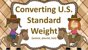 Converting U.S. Standard Measurement Pack (Weight, Capacity, and Length)