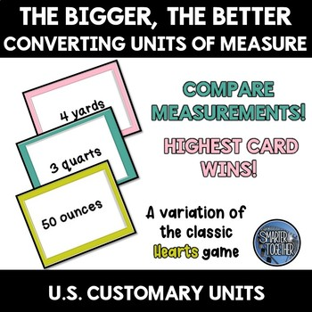 Converting Units of Measure Game - Customary Units