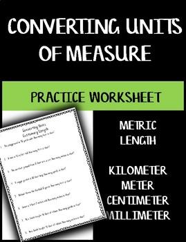 Converting Units of Measure - Length Metric