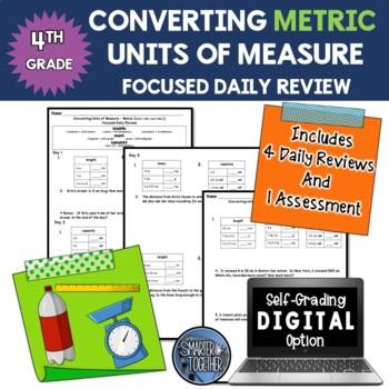 Converting Units of Measure - Metric - Focused Daily Revie