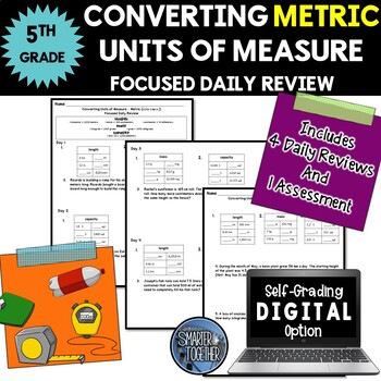 Converting Units of Measure - Metric - Focused Daily Revie