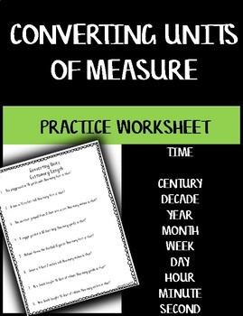 Converting Units of Measure - Time