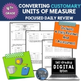 Converting Customary Units of Measure Daily Review Digital Option