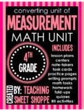 Converting Units of Measurement Comprehensive Unit