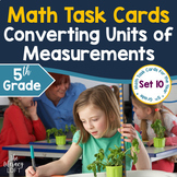 Converting Units of Measurement Task Cards (5th Grade) I Distance Learning
