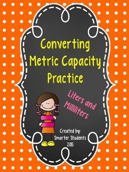 Converting Units of Metric Capacity Practice