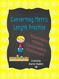 Converting Units of Metric Length Practice