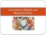 Converting Weight and Measurements