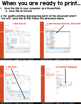 Converting a PowerPoint to PDF Guide