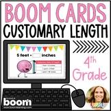 Converting Units of Customary Length Digital Boom Cards