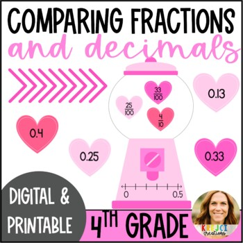 Converting and Comparing Fractions and Decimals Activity