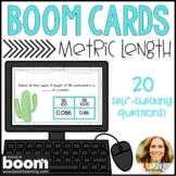 Converting Units of Measure | Metric Length Boom Cards | Distance Learning
