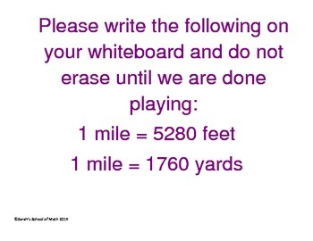 Converting and Comparing Speeds (Distance=rate*time) Whiteboard Basketball