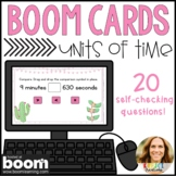 Converting and Comparing Units of Time Digital Boom Cards