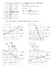 Converting and Graphing Linear Equations Practice Key