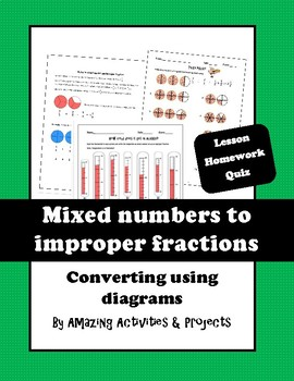 Converting between mixed number and improper fraction
