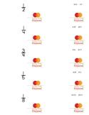 Converting fractions, decimals, percents flash cards