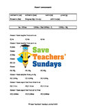 Converting measurements lesson plans, worksheets and more