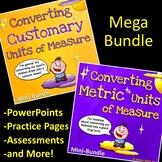 Converting Customary and Metric Units of Measure (Mega Bundle)