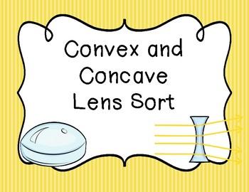 Convex and Concave Lens Sort