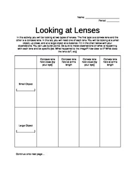 Convex and Concave Lenses Activity by Science It Up   TpT likewise Lenses Worksheet further  in addition 51 S In Word Lems Worksheet  Critical Lens Worksheet Essay Template as well Concave Vs Convex Mirror Concave And Convex Mirror Ray Diagram in addition Unit13 Wksh Lenses 111418 docx   Unit 13 Lenses I Watching from the likewise Lenses  Worksheet together with r mark the homework    ppt download likewise Convex Lens   Definition likewise Quiz   Worksheet   Thin Lens Equation   Study as well Concave Lens Lesson Plans   Worksheets Reviewed by Teachers additionally Difference Between Convex and Concave Lens  with Figure  Ex le and moreover Lenses Worksheet   Teachers Pay Teachers furthermore Image Formation by Lenses   Physics additionally Difference Between Convex and Concave Lens  with Figure  Ex le and further Concave   Convex Lenses  Quiz   Worksheet for Kids   Study. on convex and concave lenses worksheet